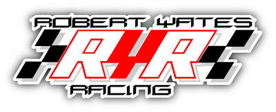 Two Brothers Nascar Racing Car Bumper Sticker Decal 5/'/' 6/'/' and 8/'/'