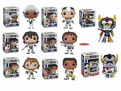 Voltron Legendary Defender Animation Funko Pop Vinyl Collectibles Single or Set