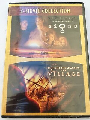 Signs / The Village DVD New 2 Movie Collection [new Sealed]