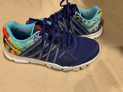 Reebok Women's Yourflex Trainette 8.0 Sneaker Memory Tech Training Shoes