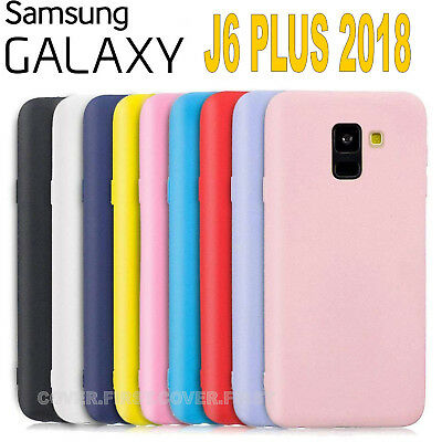 Cover Samsung Galaxy J6 plus 2018 L' ORIGINALE Silicone CUSTODIA Qualità PREMIUM