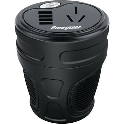 Energizer MI5020 150w Cup Power Inverter 4 X Usb Charging Ports