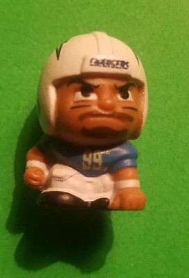 """Collectible NFL TEENYMATES 1"""" Figure Series 6 Joey Bosa Los Angeles CHARGERS"""