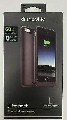 """Mophie Juice Pack for Apple iPhone 6 Plus 6S Plus 5.5"""" 60% Battery Case 2600mAh"""