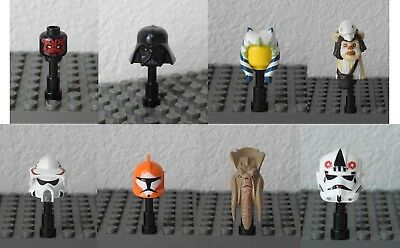 LEGO Star Wars Minifigure Parts - Helmets & Hairs - Choose Your Own