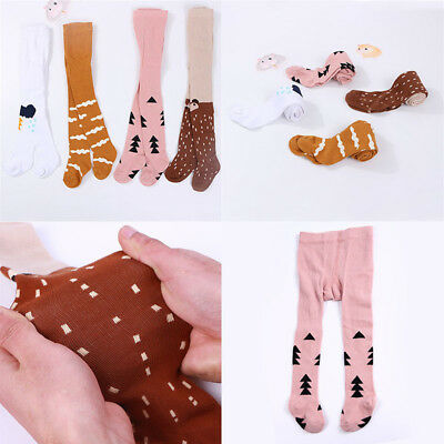 Cute Baby Girls Cotton Tights Pantyhose Stocking Children Kids for 0-3T Baby