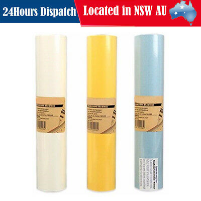 50M Translucent Sketch Butter Tracing Paper Roll Artist Copy Drafting Drawing