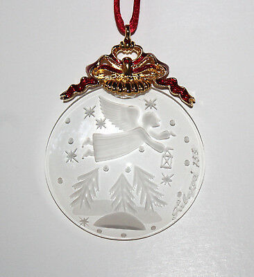 FABERGE Imperial Limited Edition Crystal Christmas Ornament