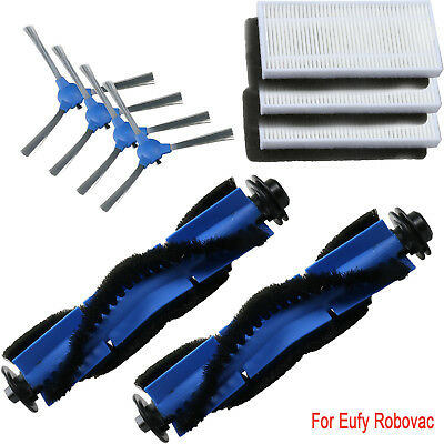 24Pc Brush Filters Side Brushes Accessories For Eufy RoboVac Replacement Kit 11S