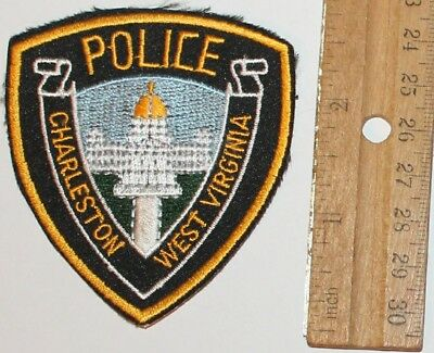 CHARLESTON POLICE West Virginia Capital City WV PD Small Hat patch