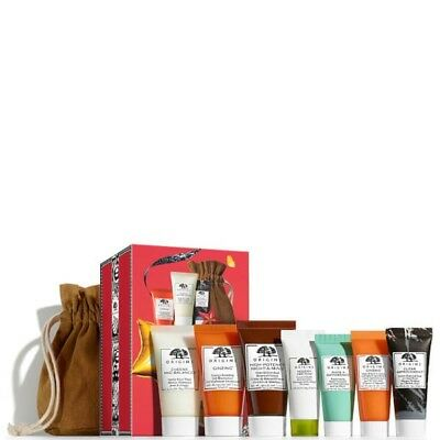 Origins Super Star Minis Set Collection 6PC Cleanser, Mask, Cream *NEW*