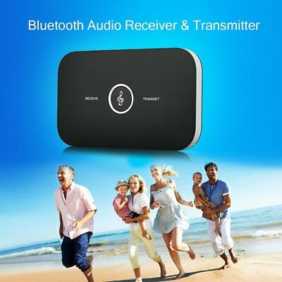 2 in 1 Wireless HIFI Bluetooth Audio Transmitter Receiver RCA Music Adapter LOT