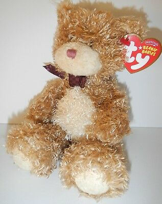 TY Beanie Babies BEARY MUCH 2006 Brown Bear Retired