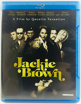 Jackie Brown (Blu-ray Disc, 2011) Quentin Tarantino Pam Grier Samuel L Jackson