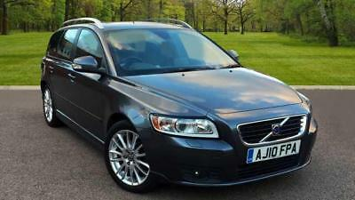 2010 Volvo V50 1.6D DRIVe SE LUX Bluetooth, Sat Nav, Integrated Booster Cushions