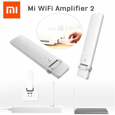 Xiaomi Mi Wifi 300Mbps Amplifier Version 2 Wireless Repeater Dual Antenna SM