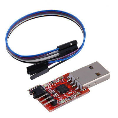 USB to TTL UART 6PIN Module Serial Converter CP2102 STC PRGMR Free cable XZ