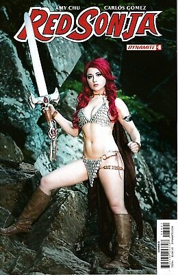 RED SONJA #8 - Cosplay Variant - NM - Dynamite