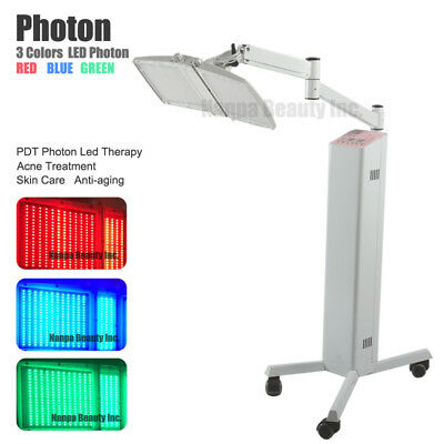 3 Colors PDT Led Photon Rejuvenation Phototherapy Anti-Aging Skin Care Equipment
