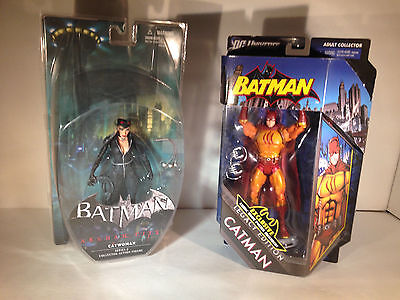 Lot # 44 - DC Universe, Direct Figures Catman, Catwoman