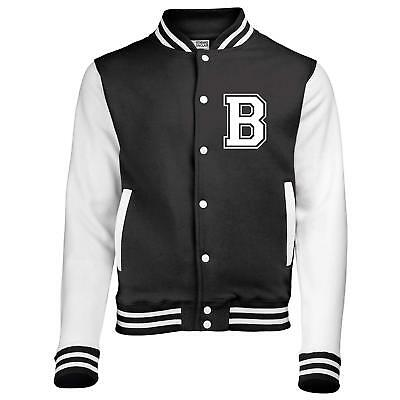 Edward Sinclair Personalized KIDS Varsity jacket with name on back and initial o