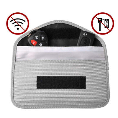 Phone Card Car Key Keyless Entry Fob Signal Blocker Faraday Bag Pouch Large Size