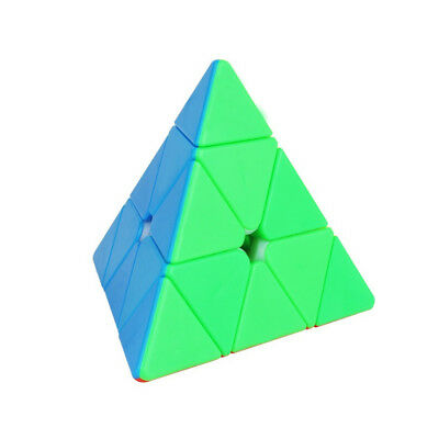 YuXin ZhiSheng Pyramid 3x3x3 Magic Speed Cube Puzzle Twist Toy for Kids