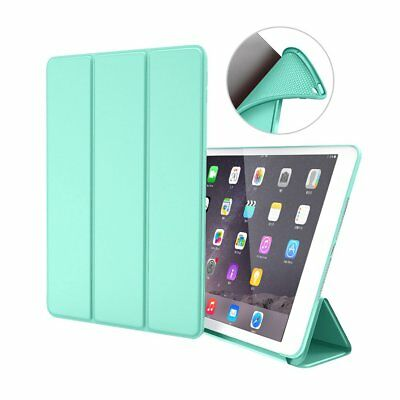 PU Leather Silicone Soft Cover Case for iPad new 9.7 2017/2018 Mini 1/2/3/4 JC