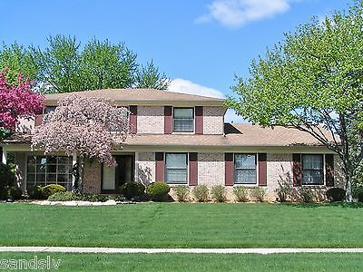 2 Story Brick Home Troy Mich. House For Sale Corner Lot Will Furnish 2440 sq ft