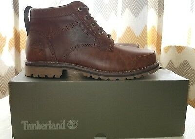 68bea69b105 TIMBERLAND LARCHMONT MENS Chukka MD Brown Full Grain size 11 mens