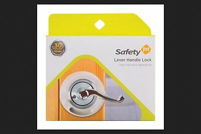 NEW Safety 1st French Door Lever Handle Baby Proof Child Lock - Set of 4