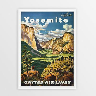 Hawaii Kunst American Airlines Vintage Travel Poster re print Print old A4 A3 A5