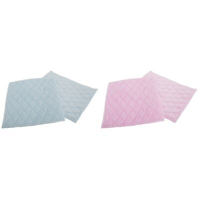 Diamond Quilted Microfibre Cleaning Pads (Pack Of 2) (CLEAN104)
