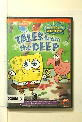 DVD Movie SPONGEBOB SQUAREPANTS Tales From The Deep Kids Animated