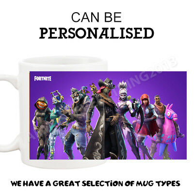 New Tea Coffee Adult Children Gift Mug Cup For Fortnite Fortnight S6 Fans
