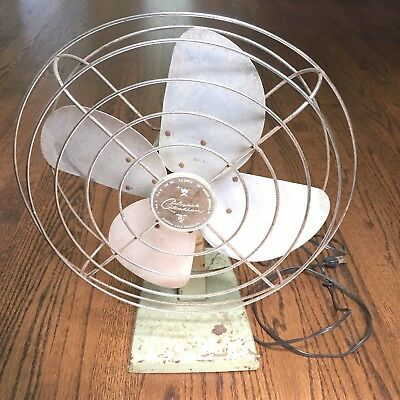 "Vintage Wizard Citation Western Auto Supply 12"" Fan - 1950s/1960s"