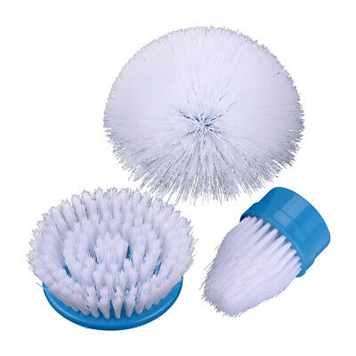 3pcs Scrubber Brush for Bathroom Drill Scrubber Brush Cleaning Cordless