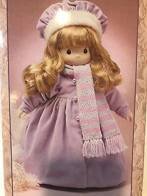 Four Seasons Precious Moments Doll--Winter--In Original Box & Wrapping