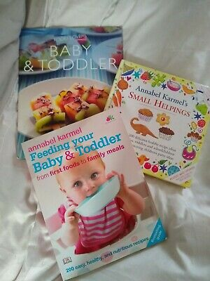 Food lovers, Feeding Your Baby and Toddler Annabel Karmel Weaning books