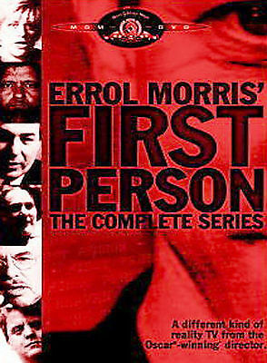 Errol Morris First Person: The Complete Series  (DVD, 2005, 3-DVD Set)