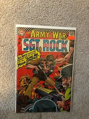Our Army at War 176 Artist Joe Kubert Appearance Sgt.Rock & Easy Co.