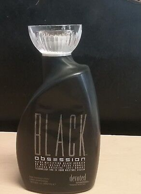 NEW 2019 DEVOTED CREATIONS BLACK OBSESSION BLACK BRONZER 13.5 oz