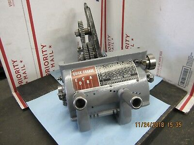 """Atlas Craftsman 12"""" Commercial Lathe Quick Change Assembly"""