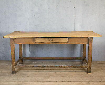 2m Long, French Antique Table, Kitchen Island, Vintage
