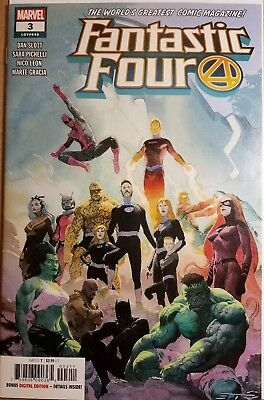 Fantastic Four #3 (2018) Marvel Comics NM 1st Print 25% OFF