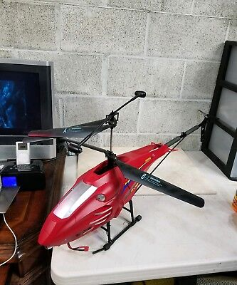 SPEEDING HIGH SPEED GPM Extra Large RC Helicopter, Incomplete 40 Inches Long