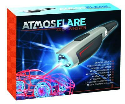 NEW 3D Printing Printer AtmosFlare Drawing Pen Set LED Wireless Toy Gift Kids