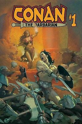 CONAN THE BARBARIAN #1 Cover A - Marvel 2019  1/2/19 ($4.99 cover!)