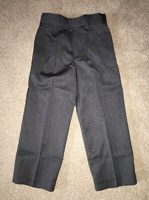 Nautica Boys Dress Pants Size 4 Charcoal NWT