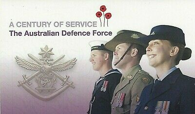 2014 STAMP PACK 'ADF A CENTURY OF SERVICE' 4 x 70c + MINI SHEET - TOTAL 8 x 70c